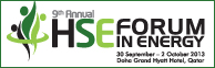 9th Annual HSE Forum in Energy